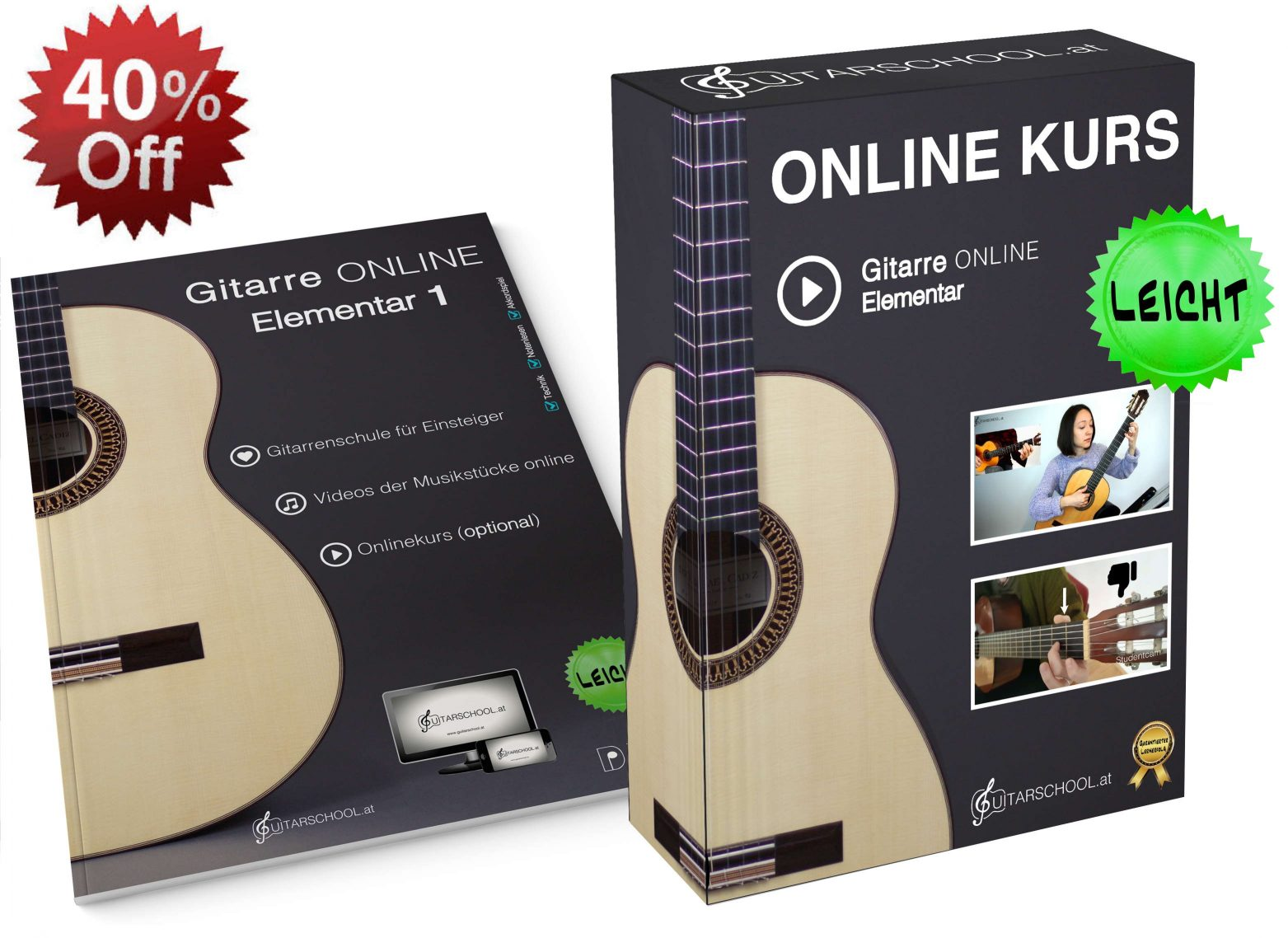 Onlinekurs Gitarre Angebot