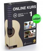 Gitarrenkurs 1 Box