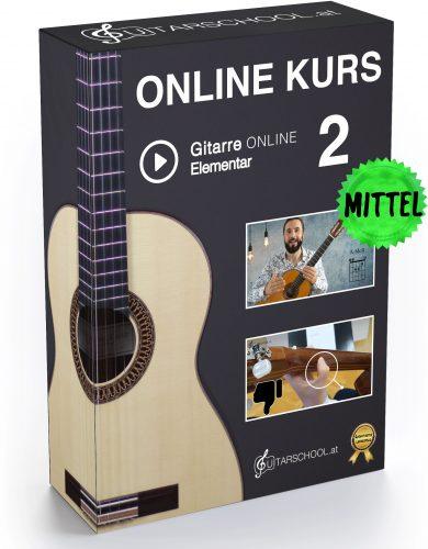 Gitarrenkurs Online Elementar 2