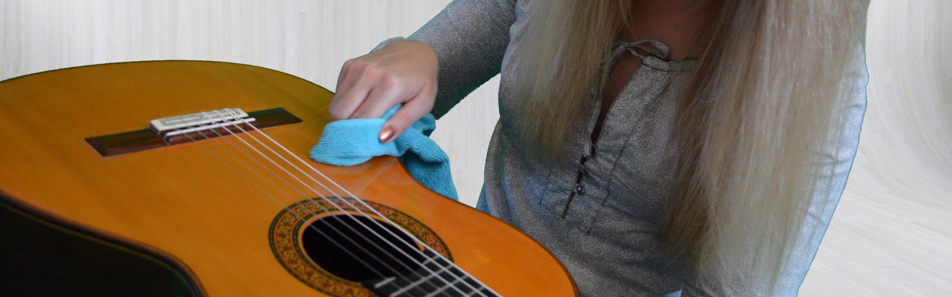 Gitarrenpflege Schellack